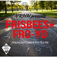 Frisbees and FroYo