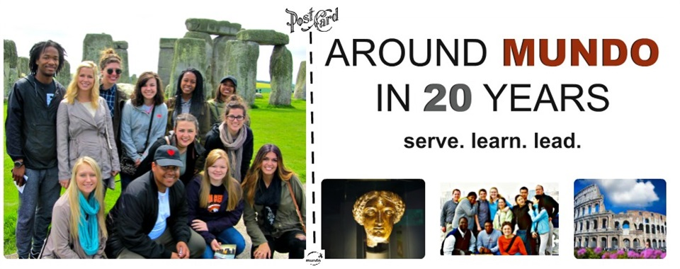 Go Global with MUNDO in Rome and London in 2017!